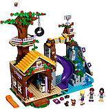 Конструктор Leduo Friends Lepin 01047 / Спортивный лагерь: дом на дереве (аналог LEGO 41122, 784 дет.), фото 5