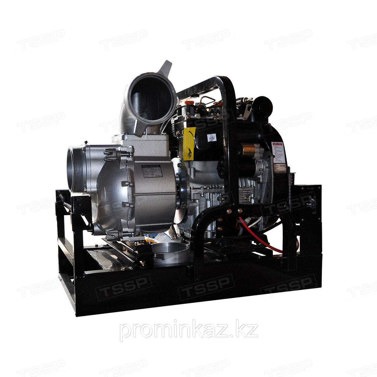 Мотопомпа дизельная ALTECO WP150,  130куб.м/час, 150мм для грязной воды