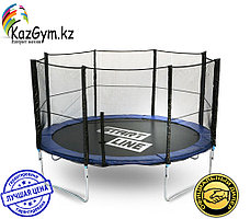 Батут StartLine Fitness 12 футов (366 см) с внешней сеткой