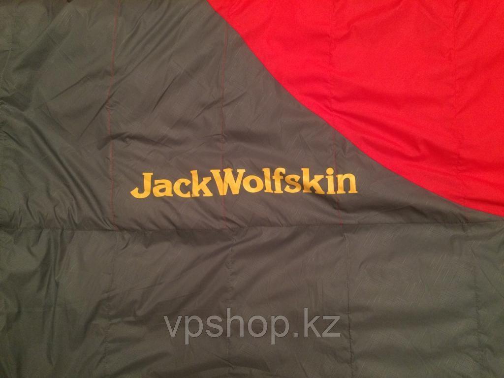 Оригинальный утепленный спальный мешок на пуху до -10 Jack WolfSkin, доставка