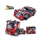 Конструктор DECOOL 3360 спортивный грузовик V8 2 в 1 (аналог Lego Technic 42041), фото 3