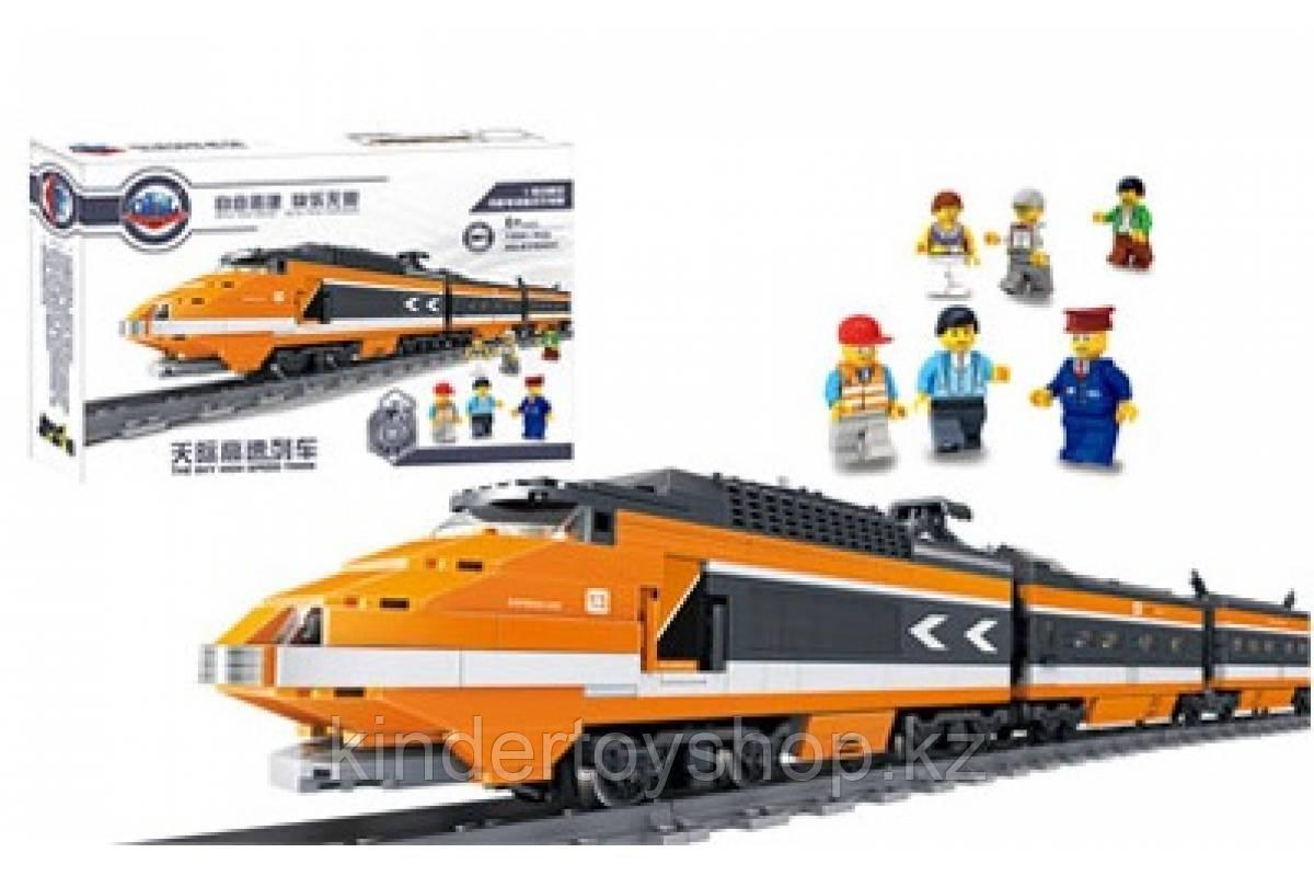Конструктор аналог Lego Creator 10233 Train KAZI - 98201 Пассажирский поезд Горизонт Экспресс Gorizon Express