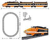 Конструктор аналог Lego Creator 10233 Train KAZI - 98201 Пассажирский поезд Горизонт Экспресс Gorizon Express, фото 2