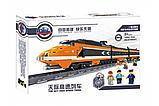 Конструктор аналог Lego Creator 10233 Train KAZI - 98201 Пассажирский поезд Горизонт Экспресс Gorizon Express, фото 3