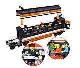Конструктор аналог Lego Creator 10233 Train KAZI - 98201 Пассажирский поезд Горизонт Экспресс Gorizon Express, фото 5