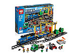 Конструктор Аналог Лего Lego 60052 Lepin 02008 King 82008 Грузовой поезд, фото 2
