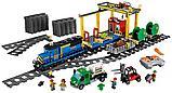 Конструктор Аналог Лего Lego 60052 Lepin 02008 King 82008 Грузовой поезд, фото 3