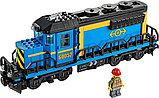 Конструктор Аналог Лего Lego 60052 Lepin 02008 King 82008 Грузовой поезд, фото 4
