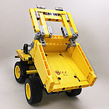 Конструктор YILE 108A 2 в 1 Лего Техник аналог 42035 Lego Technic Карьерный грузовик, фото 4