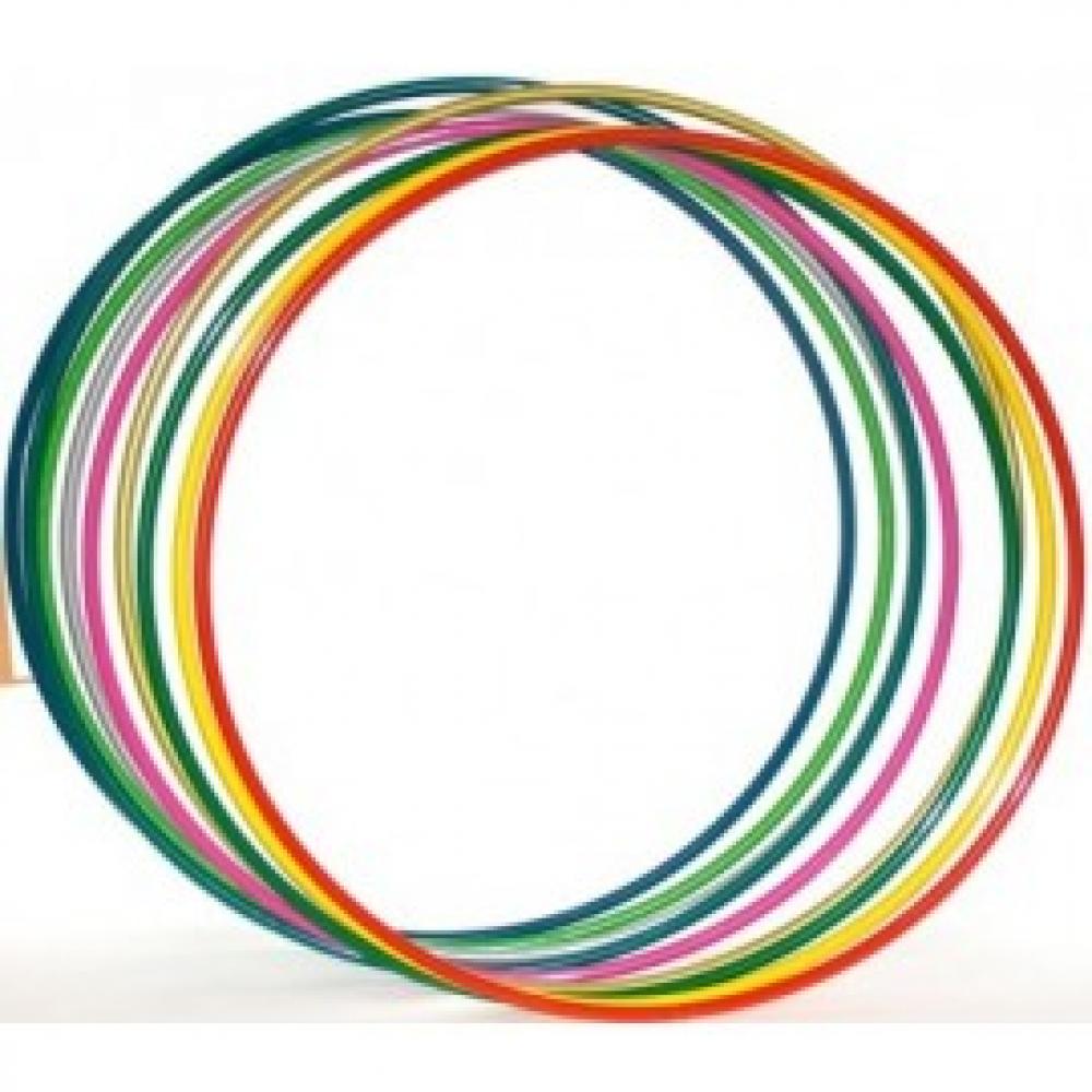 Обруч пластик средний 70см Китай К011