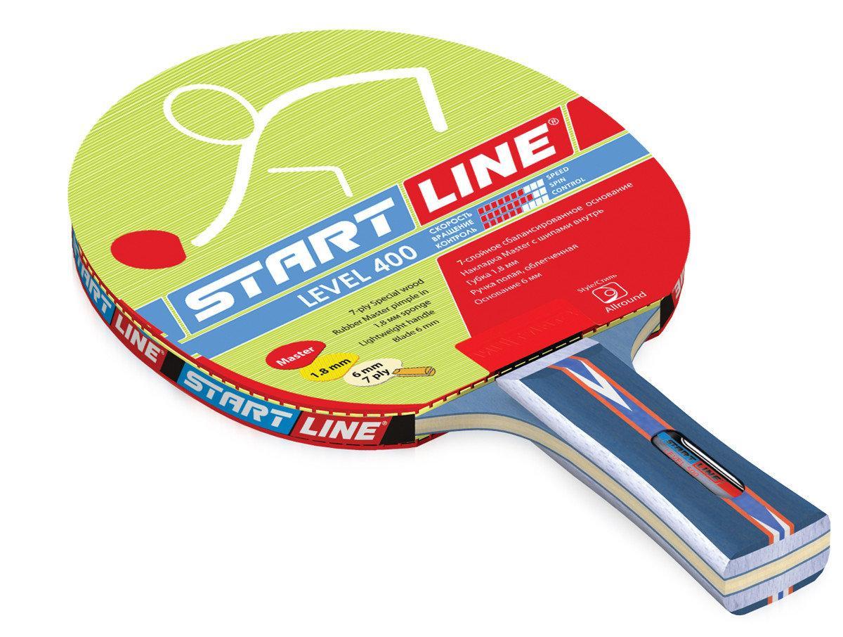Ракетка теннисная Start Line Level 400 - сбалансированная ракетка - фото 1