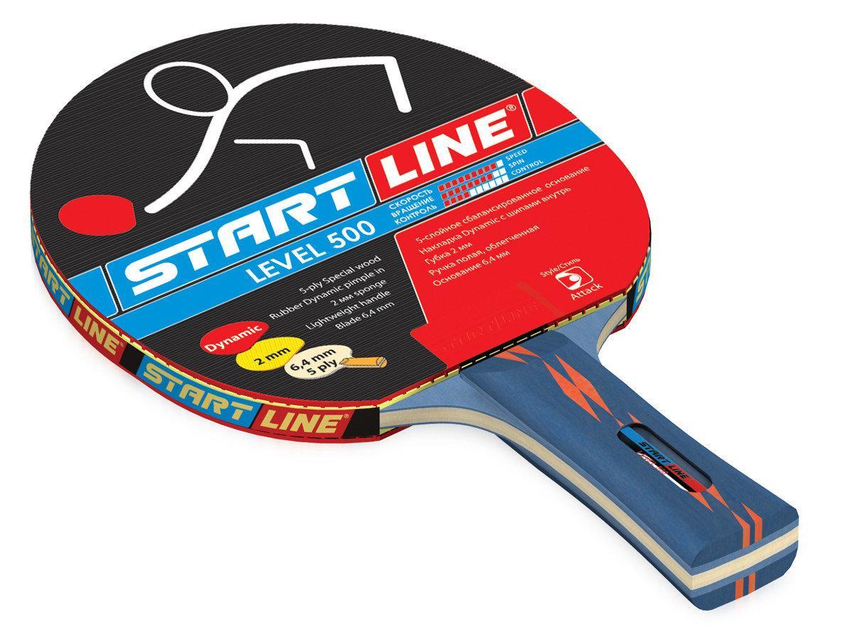 Ракетка теннисная Start Line Level 500 - для динамичной игры - фото 1