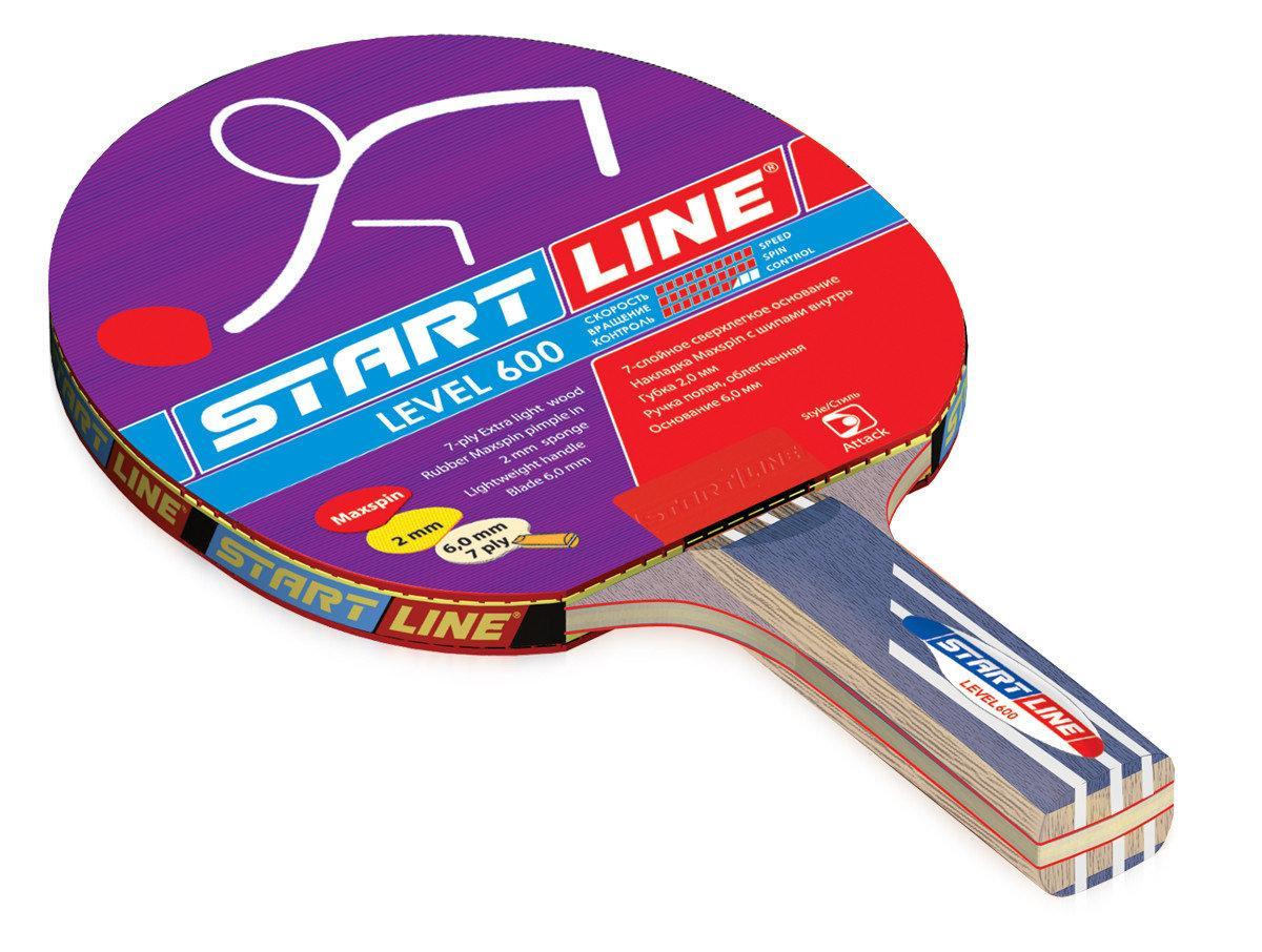 Ракетка теннисная Start Line Level 600 - суперскоростная - фото 1