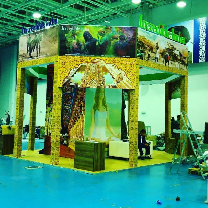 Строительство выставочного стенда в Астане