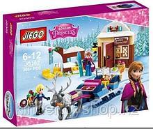 "Конструктор GlEGO аналог LEGO 41066 ""Холодное сердце"" - Анна и Кристоф: прогулка на санях"