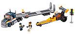 Конструктор bela 10650 Сити Грузовик для перевозки драгстера: - аналог LEGO City (Лего Сити) 60151, фото 3