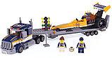 Конструктор bela 10650 Сити Грузовик для перевозки драгстера: - аналог LEGO City (Лего Сити) 60151, фото 4