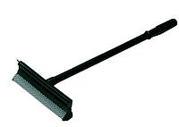 Скребок для стекла, со спонжем, 515 мм, черный цвет