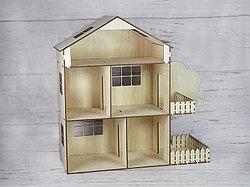 Кукольный домик из фанеры. Маленький.