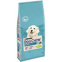Dog Chow Puppy Lamb&Rice, Дог Чау корм для щенков с ягненком, уп. 14кг