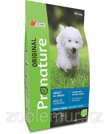 Pronature Original NEW Сухой корм для взрослых собак всех пород (с курицей и овсом) 2,27 кг