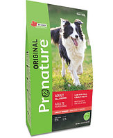 Pronature Original NEW Сухой корм для взрослых собак всех пород (с ягнёнком, горохом и ячменём) 2,27 кг