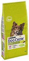 Dog Chow Adult Lamb&Rice, Дог Чау корм для взрослых собак с ягненком и рисом, уп. 14кг.