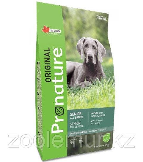 Pronature Original NEW Сухой корм для пожилых собак всех пород, курица 20 кг