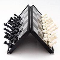 Шахматы 3в 1 (32см х 32см) магнитный, фото 1