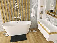 Свободностоящие ванны №2 в Астане