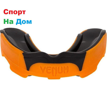 Боксерская капа Venum Predator Grey Orange, фото 2