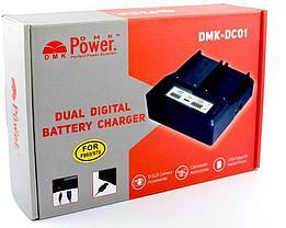 Зарядное устройство 2 аккумуляторов с LED дисплеем SONY NP-F970/NP-F770/NP-F550/NP-F570 и т.д., фото 3