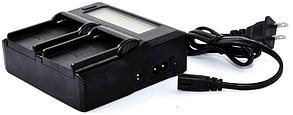 Зарядное устройство 2 аккумуляторов с LED дисплеем SONY NP-F970/NP-F770/NP-F550/NP-F570 и т.д., фото 2