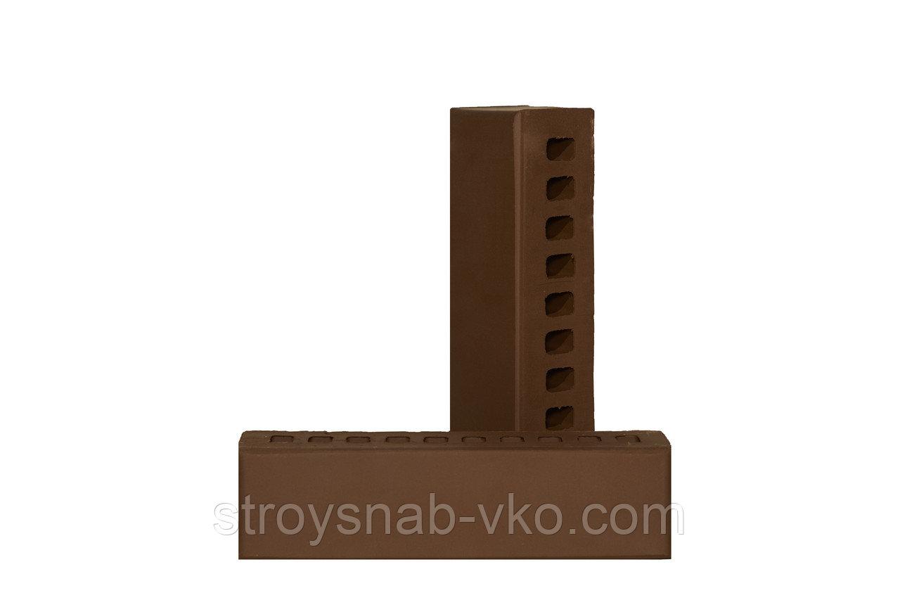 Кирпич половинка шоколад Ликолор