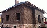Кирпич облицовочный коричневый Ликолор, фото 2