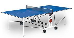 Теннисный стол Start Line Compact Light LX с сеткой (игровой набор в подарок)