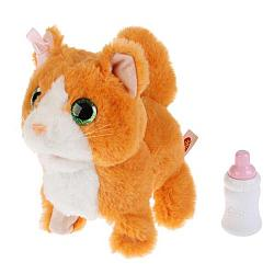 My Friends. Интерактивная игрушка - Котенок Рыжик. 16 см.