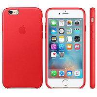 Apple Чехол для iPhone 6 / 6s Leather Case - (PRODUCT)RED аксессуары для смартфона (MKXX2ZM/A)