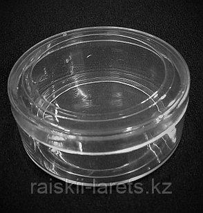 Баночка для мелочей  d=5,5*2,0 см прозрачная