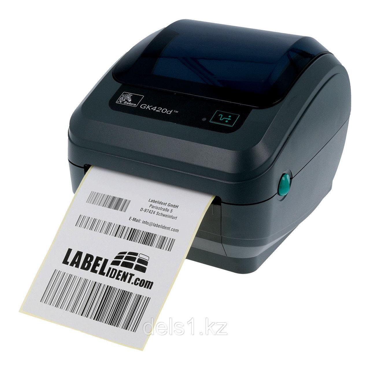 Термо-принтер этикеток Zebra GK420d (снят с производства)