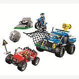 """Конструктор Bela 10862 (аналог Lego City 60172) """"Погоня по грунтовой дороге"""", 315 дет, фото 2"""