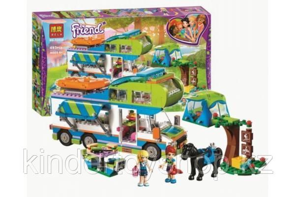 Конструктор BELA 10858 Friends Дом на колёсах (Аналог Lego Friends 41339)