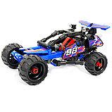 """Конструктор Decool 3411 """"Внедорожный гоночный автомобиль"""" (аналог Lego Technic 42010) 160 дет, фото 2"""