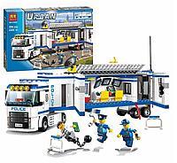 """Конструктор Bela Urban 10420 """"Мобильный отряд полиции""""аналог LEGO 60044 394 деталей"""