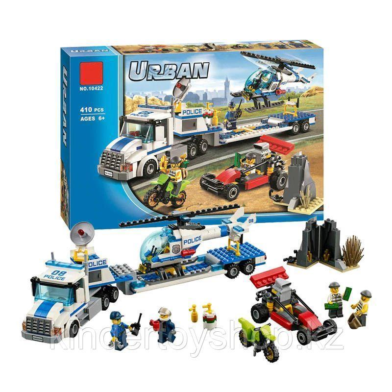 """Конструктор Bela 10422 City """"Перевозчик вертолета"""" (аналог Lego 60049)"""