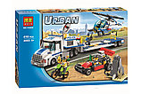 """Конструктор Bela 10422 City """"Перевозчик вертолета"""" (аналог Lego 60049), фото 2"""
