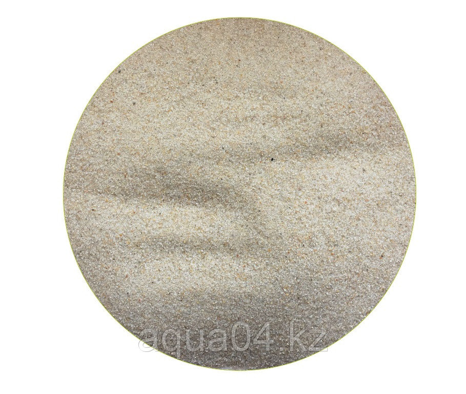 Кварцевый грунт «Лунный» окатанный 0,5-1,0 мм