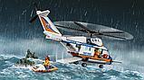 """Конструктор BELA  City 10754 """"Сверхмощный спасательный вертолет"""" аналог LEGO 60166 439 деталей,, фото 3"""