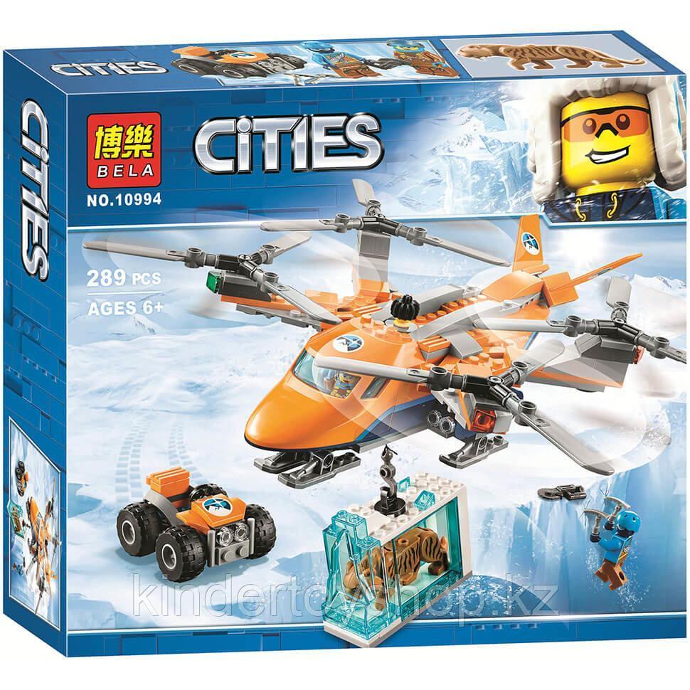Конструктор Bela 10994 Арктический город воздушный транспорт (аналог Lego 60193)