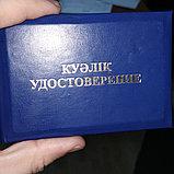 Служебные удостоверения под заказ в Алматы, фото 3